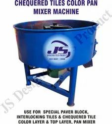 Chequered Tile Color Pan Mixer