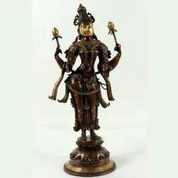Capstona Brass Laxmi Standing Fine Idols