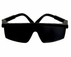 Black And White zoom safety goggle, Size: Universal