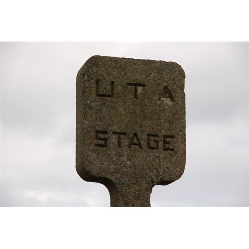 Concrete Display Sign
