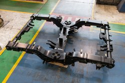 Bogie Frame Machining