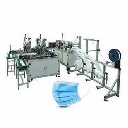 Fully Automatic Nose Pin Attached Blank Face Mask Making Machine - 2 - 5 Ply