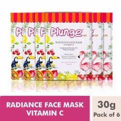 O3 Plunge Natural Radiance Face Mask Vitamin C (Pack of 6, 180 g)