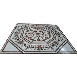 Marble Rangoli Flooring Service