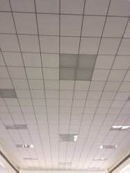 Armstrong 600mmX600mm False Ceiling Work