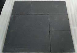 Black Limestone for Flooring, Packaging Type: Wooden Crates