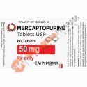 6- MP 50mg Tab Mercaptopurine Tablets IP 50 mg