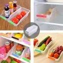Atman Fridge Storage Basket Shelf Organizer Space Saver Food Storage Refrigerator Drawer- Pack Of 4