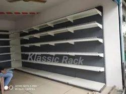 Klassic Rectangular Supermarket Shelving Rack, 6