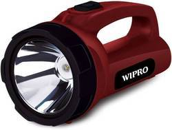 Wipro Emerald Torch, Battery Type: Lithium Ion
