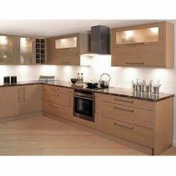 Modern Wooden Italian Modular Kitchen