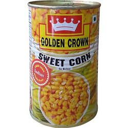 A Grade Pan India Golden Crown Sweet Corn, 400 gm