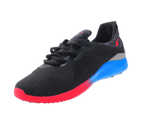 ca9109b2be7e3 Sparx Black   Red Gents Sports Shoes SM-289