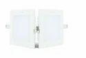 5-watt Recessed Led Panel Ceiling Light (warm Light, Square), 5 Watts