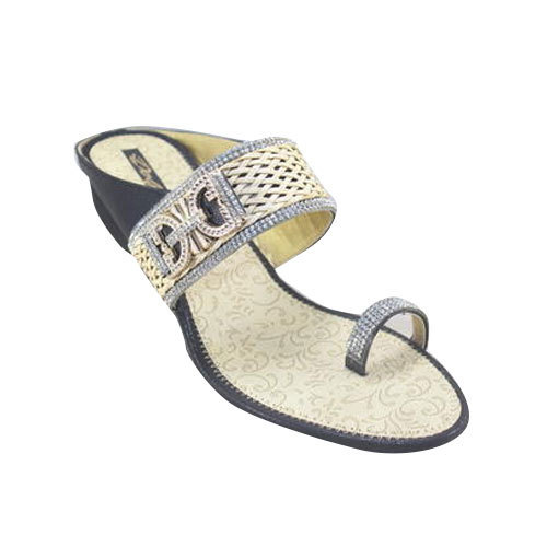 c7e13c42573 Heels Casual Slipper, Size: 6-10, Rs 150 /pair, Dolfin Exclusive ...
