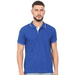 Royal Blue Polo T Shirts For Men