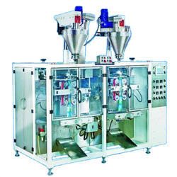 Double Head Automatic Pouch Packing Machine