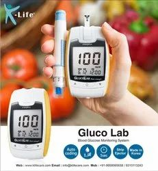 Gluco Lab Auto Coding Blood Glucose Meter, For Clinic