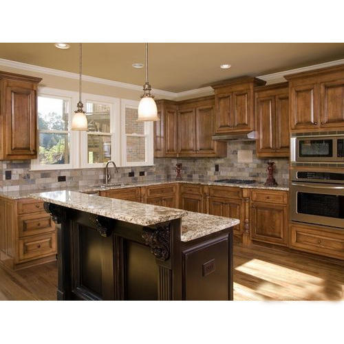 Commercial Wooden Kitchen Cabinet