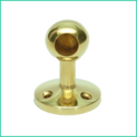 Ball Post End - Short ( Brass)