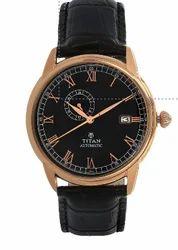 Titan Brown Dial Analog Watch For Men