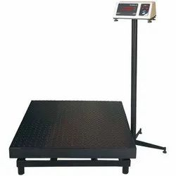 Checkered Pan Platform Weighing Scale