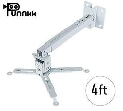Adjustable Punnkk Projector Ceiling Wall Mount Projector Stand