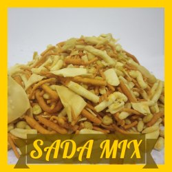 Munchin Sada Mix Namkeen and Snacks, Packaging Size: 500 grams
