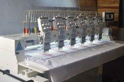 Six Head Computer Embroidery Machine