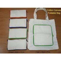 Cotton Canvas Foldable Bag