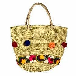 Yellow Jute Bag JB10002