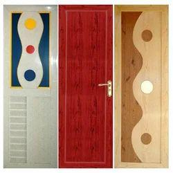 Polished Optional PVC Designer Door