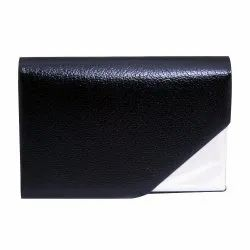 Black Leather ATM and Visiting Card Holder