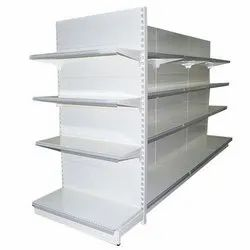 4 - 6 Feet Free Standing Unit Mild Steel Display Rack