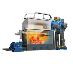 Water Wall Membrane Type Steam Boiler