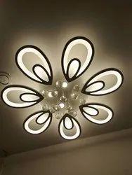 Acrylic Hanging LED CHANDLIERS