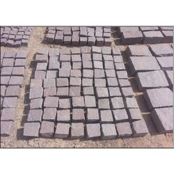 Bush Hammered Cobbles