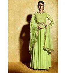 Floor Length Designer Ladies Suit