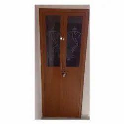 PVC, glass Hinged PVC Glass Door, Exterior