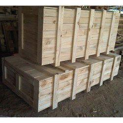 Cuboid Pine Wood Box