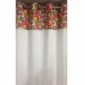Polyester Eyelet Synthetic Window Curtains