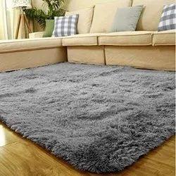 Grey Soft Floor Carpet