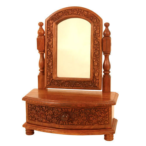 Brown Standard Wooden Dressing Table Rs 4500 Piece Asian Art