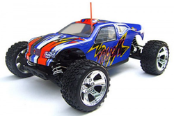 Blue Racing 1/10 Nitro Onslaught 4WD Off Road Truck SH18 Engine Taiwan