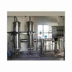 2000 LPH RO Plant Stainless Steel