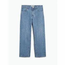 Plain Denim Mens Regular Jeans, Waist Size: 28 To 34