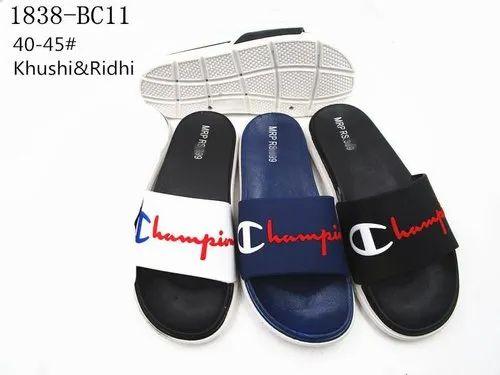 PVC Daily wear Champion Rubber Slipper