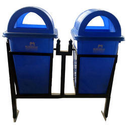 Nilkamal Plastic Dustbin With Stand