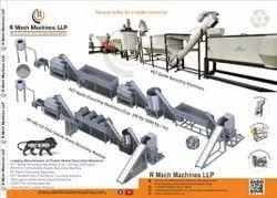 R Mech Machines PET Flakes Washing Plant
