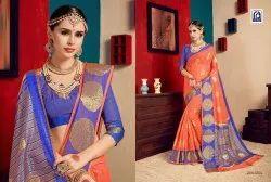 Rachna Cotton Sajili Catalog Saree Set For Woman